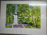 18 июня во Дворце искусств Бобруйска открыла выставка графики «По местам боевой славы»