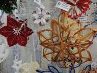 В Центре досуга и творчества г.Бобруйска проходит выставка «Новогодние снежинки»