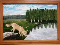 С 19 по 30 апреля в Бобруйске пройдет выставка самодеятельного художника Анатолия Стряпченко «Под мирным небом Родины»
