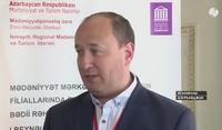 Хмельков О.Ф. на I Международном научно-практическом семинаре в Азербайджане